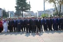 GAZI MUSTAFA KEMAL - Atatürk'ün Ordu'ya Gelişinin 93'Üncü Yıldönümü Kutlandı