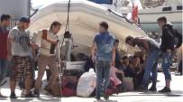 MÜLTECI - Ayvalık'ta 47 Suriyeli Mülteci Daha Yakalandı