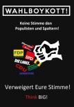 PROTESTO - BIG'den Seçimleri Boykot Yarışması