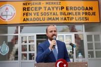 NEVŞEHİR BELEDİYESİ - Bilal Erdoğan, Nevşehir'de Recep Tayyip Erdoğan İmam Hatip Lisesi Açılışına Katıldı