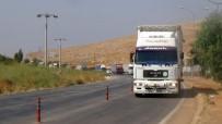 İDLIB - BM'den Suriyeliler'e 12 Yardım Tırı