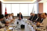 SALIH ŞAHIN - Çerkezköy TSO, Bulgar Türk Ticaret Ve Sanayi Odasını Ağırladı