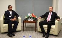 BIRLEŞMIŞ MILLETLER - Cumhurbaşkanı Erdoğan Pakistan Başbakanı Abbasi'yi Kabul Etti