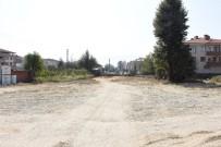 ÇEVRE YOLLARI - Düzce'de Yeni Yapılan Yolda Alt Yapı Çalışması Başlıyor