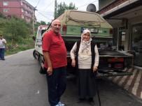 KILIMLI - Eşinden Hatıra Kalan Otomobili Kızılay'a Bağışladı