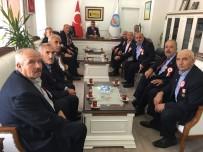 MEHMET ALİ ÖZKAN - Gazilerden Kaymakam Özkan'a Ziyaret