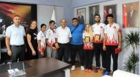 TIFLIS - Güneş, Wushu Şampiyonlarını Tebrik Etti