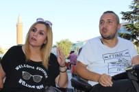 BEDENSEL ENGELLİ - Hayatındaki Engeli Yaşama Sarılarak Aştı