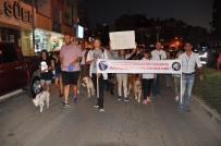 BASIN AÇIKLAMASI - Hayvanseverler Tekme Atılan Köpek İçin Yürüdü
