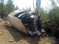 İşçi Minibüsü Uçuruma Yuvarlandı Açıklaması 1 Ölü, 6 Yaralı