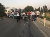 BIRGI - İzmir'de Feci Kaza Açıklaması 4 Yaralı