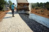 GAZILER - Kepez'de Asfaltlama Çalışması