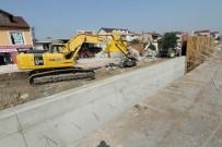 KURUÇEŞME - Köseköy Kavşağı Yapım Çalışmaları Hız Kesmeden Devam Ediyor