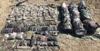 UÇAKSAVAR - Teröristlere Ait Çok Sayıda Silah Ve Mühimmat Ele Geçirildi