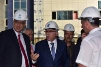 HUZUR MAHALLESİ - TOKİ Başkanı Ergün, Seyrantepe Ve Sultanbeyli Hastane İnşaatlarını Ziyaret Etti