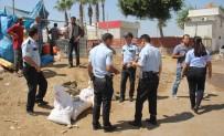 KARACAOĞLAN - Hayvan Pazarında Silahlı Saldırı Açıklaması 3 Yaralı
