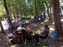 BELGRAD ORMANı - İstanbullular Bayramın İkinci Günü Piknik Alanlarına Akın Ettiler