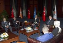HARUN KARACAN - MHP Ve Hüda-Par'dan AK Parti'ye Ziyaret