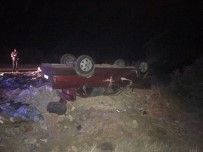 Uşak'ta Trafik Kazası Açıklaması 1 Ölü, 1 Yaralı