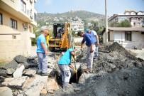 CIKCILLI - Alanya Belediyesi Altyapı Çalışmalarına Hız Verdi