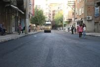 YOL ÇALIŞMASI - Bağlar Belediyesi Lefkoşa Caddesini Yeniledi