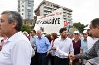 CUMHURİYET HALK PARTİSİ - Başkan Hazinedar 'Fındık İçin Adalet' Yürüyüşüne Katıldı