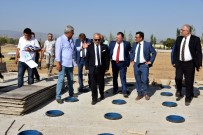 CENGIZ ERGÜN - Başkanlar Salihli'nin Projelerini İnceledi