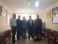 BAŞSAVCı - Başsavcı Tiryaki'den Bayburt Gazeteciler Cemiyeti'ne Ziyaret