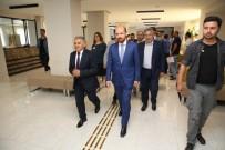 BILAL ERDOĞAN - Bilal Erdoğan Melikgazi İletişim Merkezi'ni Gezdi