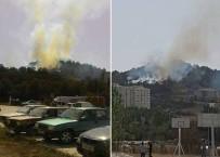 YANGIN HELİKOPTERİ - Bozüyük'te Orman Yangını