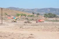 HAZİNE ARAZİSİ - Çanakkale'de Depremzedelerin Evlerinin Yapımına Başlandı