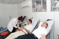 BELEDİYE BAŞKAN YARDIMCISI - Çatak'ta Kan Bağışı Kampanyası
