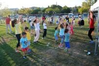 ÇOCUK OYUNLARI - Çocuklar Yaz Sonu Şenliğinde Doyasıya Eğlendi