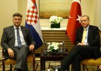 NEW YORK - Cumhurbaşkanı Erdoğan, Hırvatistan Başbakanı Plenkovic İle Görüştü