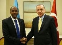 NEW YORK - Cumhurbaşkanı Erdoğan, Somali Başbakanı Kayre İle Görüştü