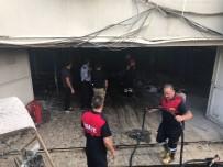 TAHKİKAT - Iğdır Emniyet Müdürlüğü Binasında Yangın