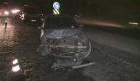VAHDETTIN - İki Otomobil Çarpıştı Açıklaması 4 Yaralı