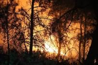 ORMAN YANGINI - Karabük'teki Orman Yangınına Müdahale Sürüyor