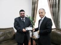 BASIN MENSUPLARI - KKDGC'den Emniyet Müdürü Bitirik'e Ziyaret