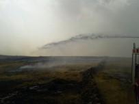 ANIZ YANGINI - Midyat'ta Anız Yangını