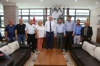 ESKİŞEHİR - Muhacir Dernekleri Federasyonu'ndan Başkan Kurt'a Ziyaret