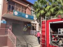 ANTALYA - Okulda Çıkan Yangın Korkuttu