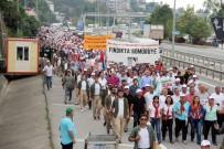 KEMAL KILIÇDAROĞLU - Ordu-Giresun Arasında Yapılan 'Fındık İçin Adalet Yürüyüşü' 3. Gününde Tamamlandı