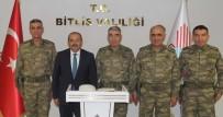 BİTLİS - Orgeneral Savaş'tan Vali Ustaoğlu'na Ziyaret