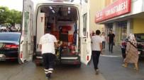 GENÇ KIZ - Otomobilden Kaçarken Tramvay Çarptı