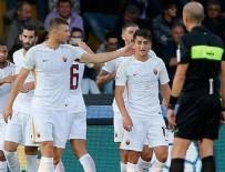 KENDİ KALESİNE - Cengiz oynadı, Roma fark attı!