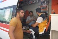 SAĞLIK EKİPLERİ - Takla Atan Otomobilden Burnu Bile Kanamadan Çıktı