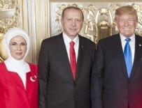 DONALD TRUMP - Trump'un resepsiyonuna Emine Erdoğan'ın elbisesi damga vurdu