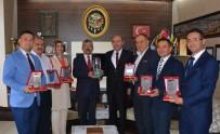 TÜRKİYE BİRİNCİSİ - Türkiye Birinciliği Getiren Proje Ekibine Ödül