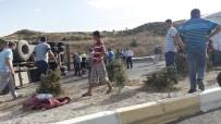 İNŞAAT MALZEMESİ - Uşak'ta Facia Ucuz Atlatıldı